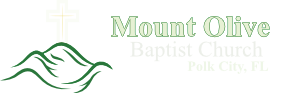 Mount Olive Baptist Church - Polk City, Florida